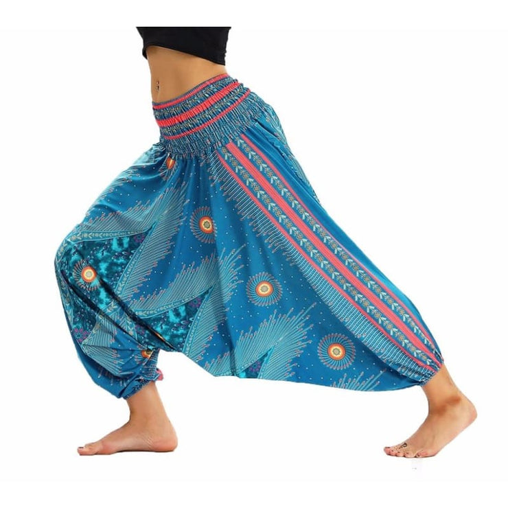 Low Leg Harem Pants One-Size Fits All So Comfortable!