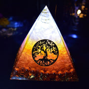Aura Reiki Orgonite Pyramid - $16 PROMO FREE SHIPPING TODAY ONLY