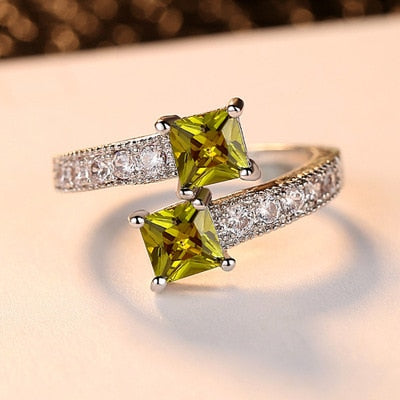Starry Star CZ Ring