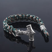 Viking Survival Paracord Bracelet (Thor's Hammer) Mjolnir - $8 PROMO FREE SHIPPING TODAY ONLY