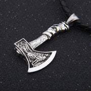 Viking Wolf God (Fenrir) Waraxe Pendant - $21 PROMO FREE SHIPPING TODAY ONLY