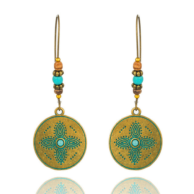 Boho Style Dangle and Drop Earrings