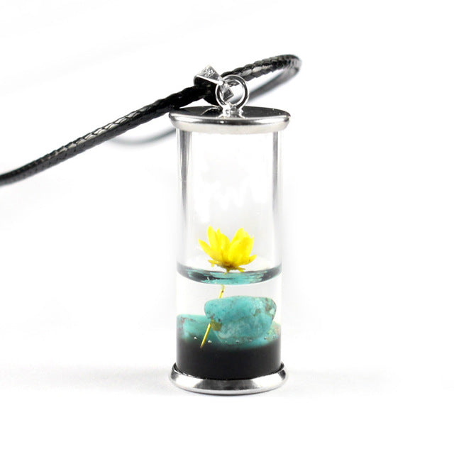 Dried Lotus Flower in a Bottle - $12 PROMO FREE SHIPPING TODAY ONLY