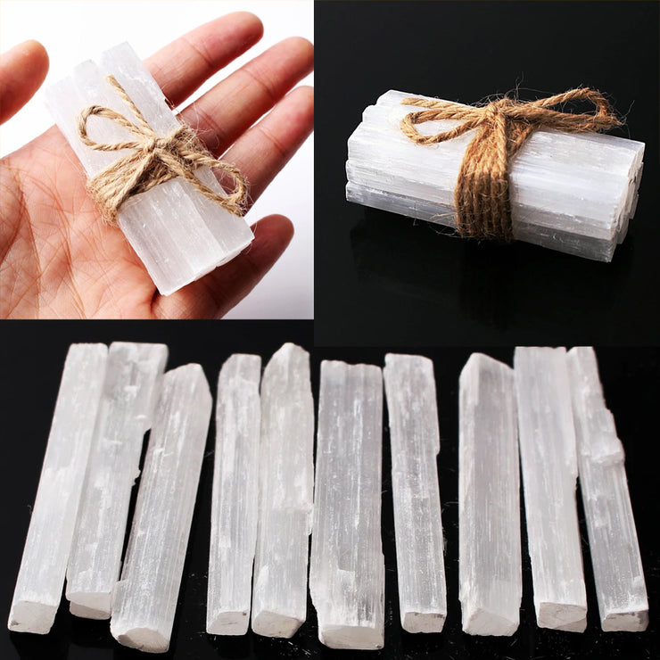 10 PIECE Selenite BUNDLE