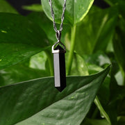 Natural Crystal Point Pendant - $6 PROMO FREE SHIPPING TODAY ONLY
