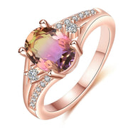Rose Gold Personality Charm Ring - $9 PROMO FREE SHIPPING TODAY ONLY