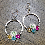 Bohemian  Hollow Big Circle Drop Earrings - $9 PROMO FREE SHIPPING TODAY ONLY