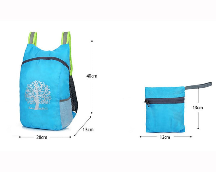 Lightweight Folding Backpack - $15 PROMO FREE SHIPPING TODAY ONLY
