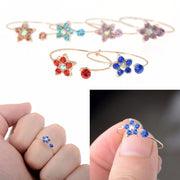 10pcs Rhinestone Kids Children's Rings - $7 PROMO FREE SHIPPING TODAY ONLY