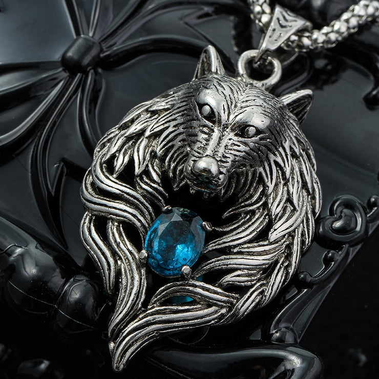 Vintage Wolf Head Necklace - $9 PROMO FREE SHIPPING TODAY ONLY