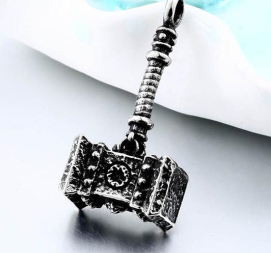 Thor's Hammer Mjolnir Viking Pendant - $24 PROMO FREE SHIPPING TODAY ONLY