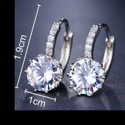 Cubic Zirconia Fashion Earrings