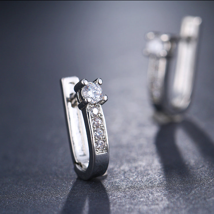 Cubic Zirconia Mini Earrings