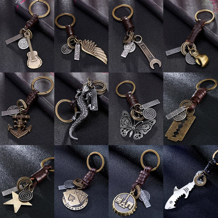 (CLEARANCE) Antique Vintage Boho Keychains