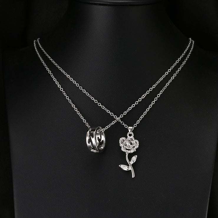 2 Piece Necklace Pendant Set