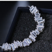 Cubic Zirconia Adjustable Bracelet