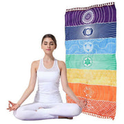 7 Chakra Wall Tapestry or Beach Towel - $15 PROMO FREE SHIPPING TODAY ONLY