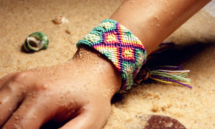 Thick Band Handmade Woven Friendship Bracelet