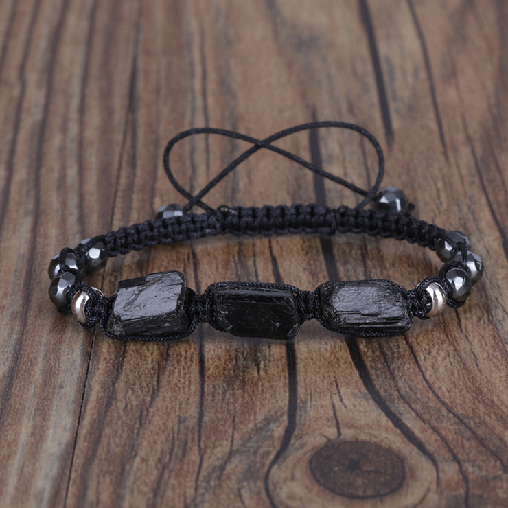Black Tourmaline Energy Bracelet - $27 PROMO FREE SHIPPING TODAY ONLY