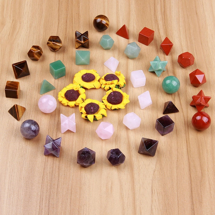 Sacred Geometry Gemstone Sets