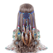 Feather Headband Headdress