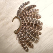Boho Festival Feather Ear Cuff