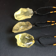 Citrine Stone Pendent Necklace