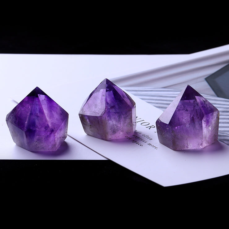 1PC Natural Amethyst Crystal - $7 PROMO FREE SHIPPING TODAY ONLY