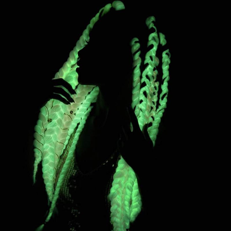 Glow in the Dark Braids