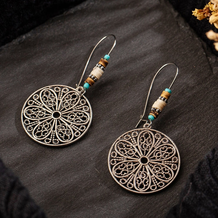 (CLEARANCE) Vintage Ethnic Dangle Drop Earrings