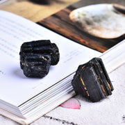 2pc Natural Black Tourmaline - $7 PROMO FREE SHIPPING TODAY ONLY