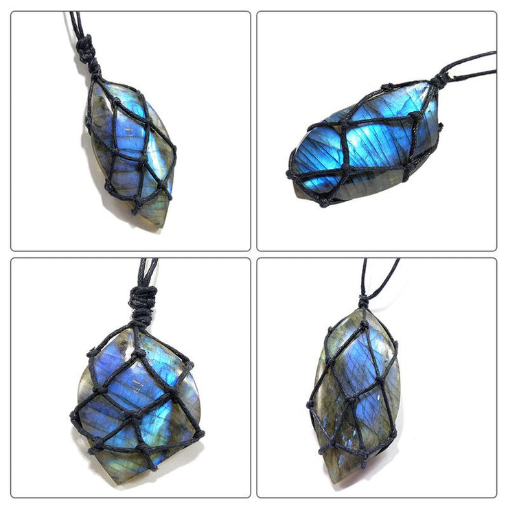 Dragons Heart Labradorite Necklace - $8 PROMO FREE SHIPPING TODAY ONLY