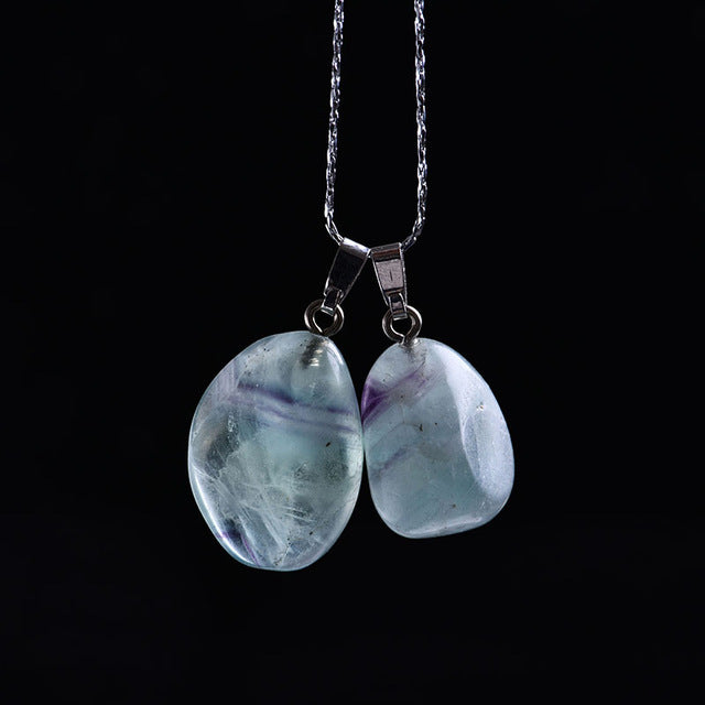Tumbled Crystal Pendant - $7 PROMO FREE SHIPPING TODAY ONLY