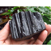 Rough Black Tourmaline Crystal