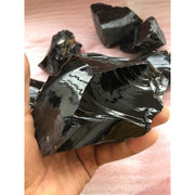 Rough Natural Obsidian