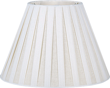 Bunny Williams - Box Pleat Linen Trade - Empire - Lux Lampshades