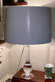 Opaque White Paper Drum Hard-back Lamp Shade - Available in three sizes