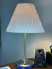 5 x 12 x 9 Woven Paper shade + Patented universal fitting for euro lamps