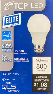 LED  60W Dimmable Light Bulb