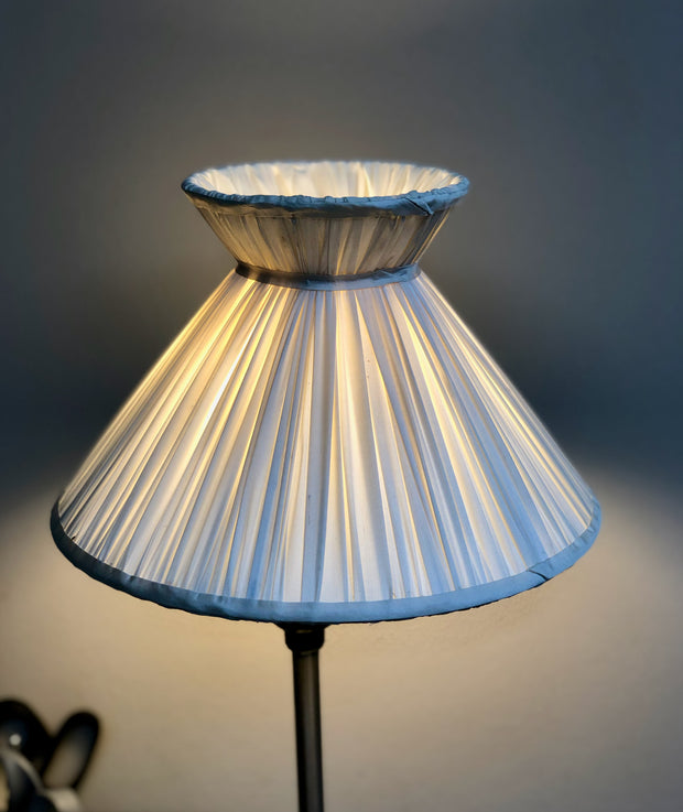Gathered Silk Corset Lamp Shade Wholesale - CANDLE CLIP