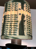 Gathered IKAT Silk Sconce Shades