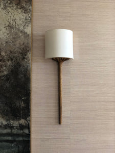 "Small Sconce shade - 5"" Half Drum"