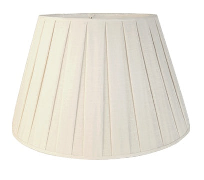Box Pleat Linen Pembroke Lamp Shades Wholesale - Available in five sizes