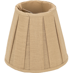 Box Pleat Linen - Empire - Chandelier