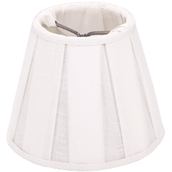 Box Pleat Linen - Empire - Chandelier - Lux Lampshades
