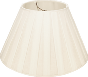 Box Pleat Linen Trade - Empire - Lux Lampshades