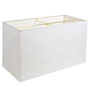 Plain Linen Retail - Rectangle - Lux Lampshades