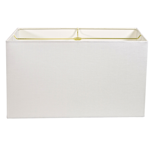 Bulk Plain Linen Wholesale - Rectangle Case Pack of (4) Shades - Lux Lampshades
