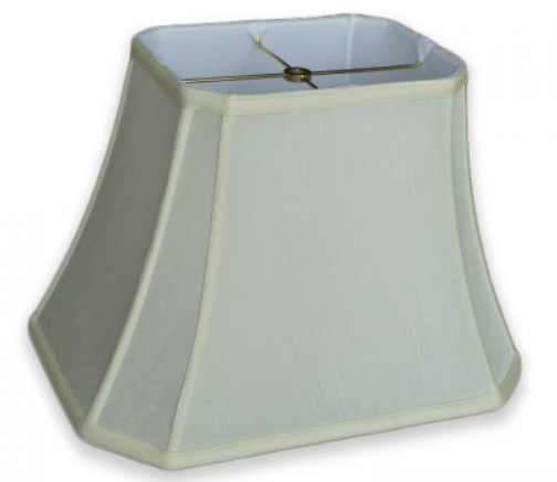Cut Corner Rectangle Lamp Shades - Available in five sizes