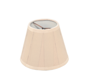 "Sand Box Pleat Paper - Empire Chandelier - 5"" - Lux Lampshades"